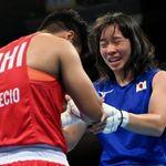 入江聖奈選手は、大好きなボクシング漫画に支えられた。『がんばれ元気』作者から似顔絵のエール(画像)