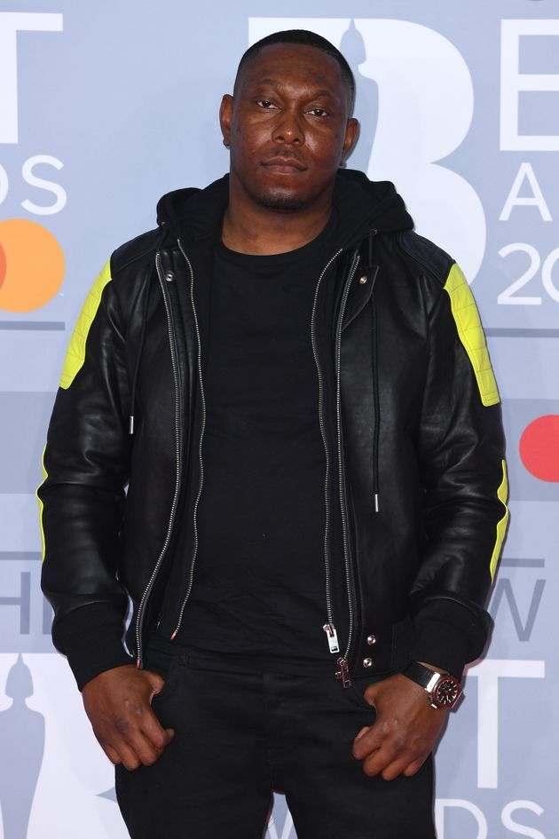 Dizzee Rascal attends The BRIT Awards 2020 at The O2 Arena on February 18, 2020 in London, England. (Photo...