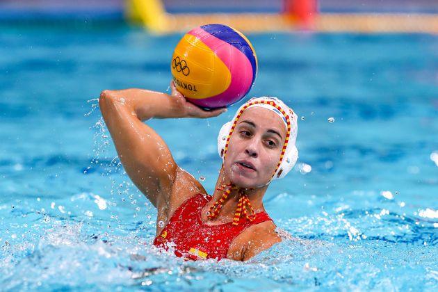 Anni Espar, jugadora del combinado español femenino de