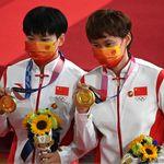 Le badge Mao Zedong de ces championnes chinoises a fait tiquer le