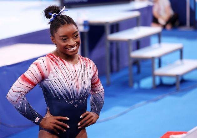 Simone Biles décroche le bronze à la poutre, sa 7e médaille olympique (Simone Biles...
