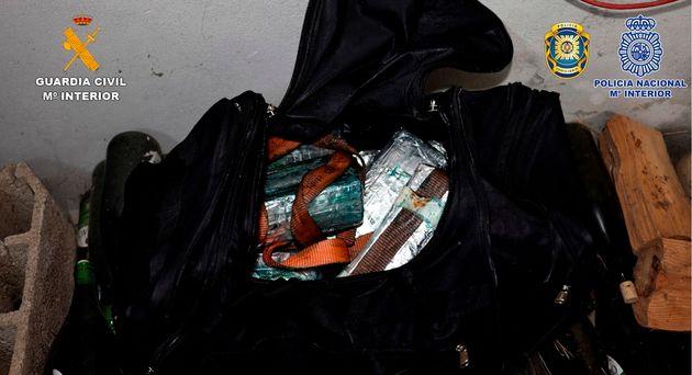 Imagen de la droga que presuntamente se introducía en