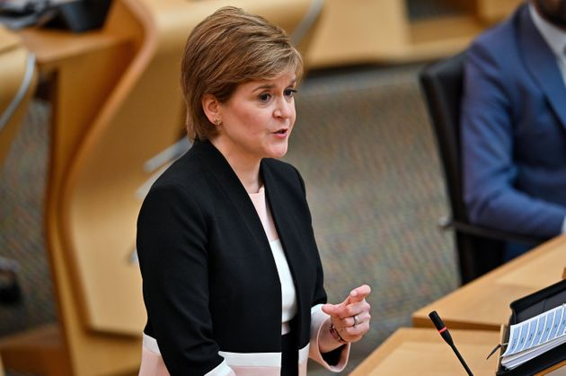 Nicola Sturgeon Scraps Almost All Covid Curbs In Scotland - But Face Masks