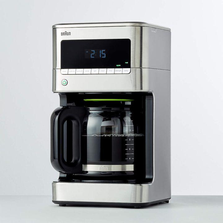 "<a href=""https://go.skimresources.com/?id=38395X987171&xs=1&xcust=coffeemaker-KristenAiken-080321-&url=https%3A%2F%2Fwww.crateandbarrel.com%2Fbraun-stainless-steel-brewsense-12-cup-drip-coffee-maker%2Fs463002%3Fa%3D784%26campaignid%3D12428710069%26adgroupid%3D116195026697%26targetid%3Ddsa-590666256688%26adpos%3D%26creative%3D503075229721%26device%3Dc%26matchtype%3Db%26network%3Dg%26gclsrc%3Daw.ds%26gclid%3DCjwKCAjwgISIBhBfEiwALE19SRxXBIc7n_SIaY1Kx_rKJRuy9GCH-6hohWcQDTmWqw8JXGxzuVX3cxoCKJcQAvD_BwE"" target=""_blank"" role=""link"" rel=""sponsored"" data-ylk=""subsec:paragraph;itc:0;cpos:__RAPID_INDEX__;pos:__RAPID_SUBINDEX__;elm:context_link"">Get the Braun Stainless Steel BrewSense 12-Cup Drip Coffee Maker for $115.95.</a>"