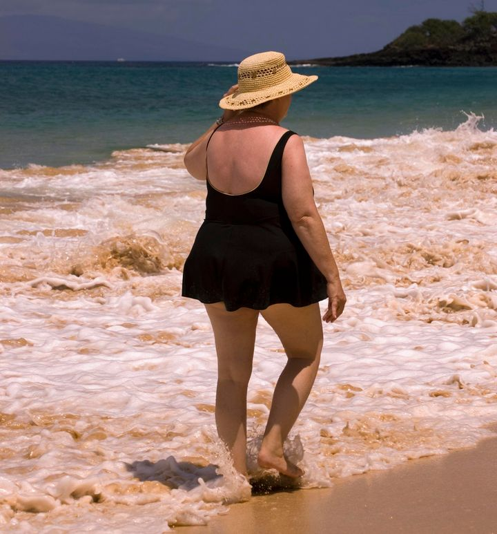 """""""I don't even remember having a tasteful one-piece or a tankini as an adolescent. Instead, it was always the swim dress."""""""
