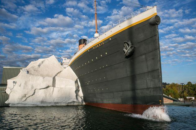 Une réplique du Titanic au musée de Pigeon Forge, le 18 octobre