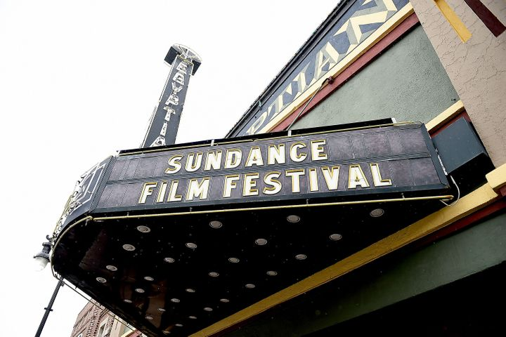 A general view the Egyptian Theater at the 2017 Sundance Film Festival on Jan. 19, 2017 in Park City, Utah.