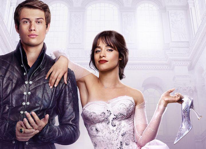 "Nicholas Galitzine and Camila Cabello in Amazon's ""Cinderella."""