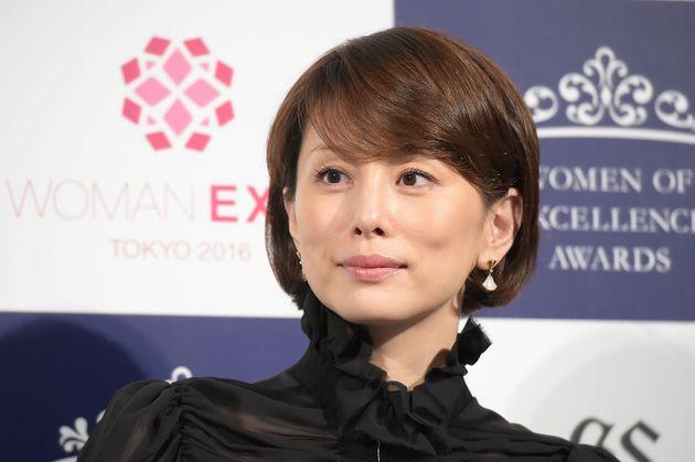 米倉涼子さん(2016年撮影)