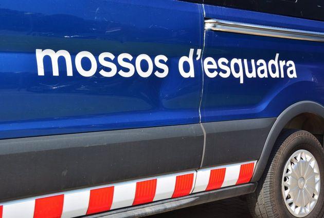 Un vehículo de Mossos d'Esquadra en una imagen de
