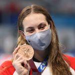 「水泳なんてムダ」と言い放った高校教師に、カナダのメダリストが強烈な皮肉【東京オリンピック】