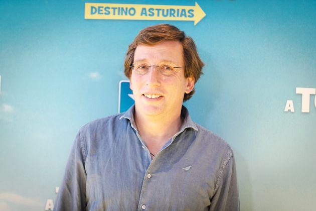 El alcalde de Madrid, José Luis Martínez-Almeida, en un acto en