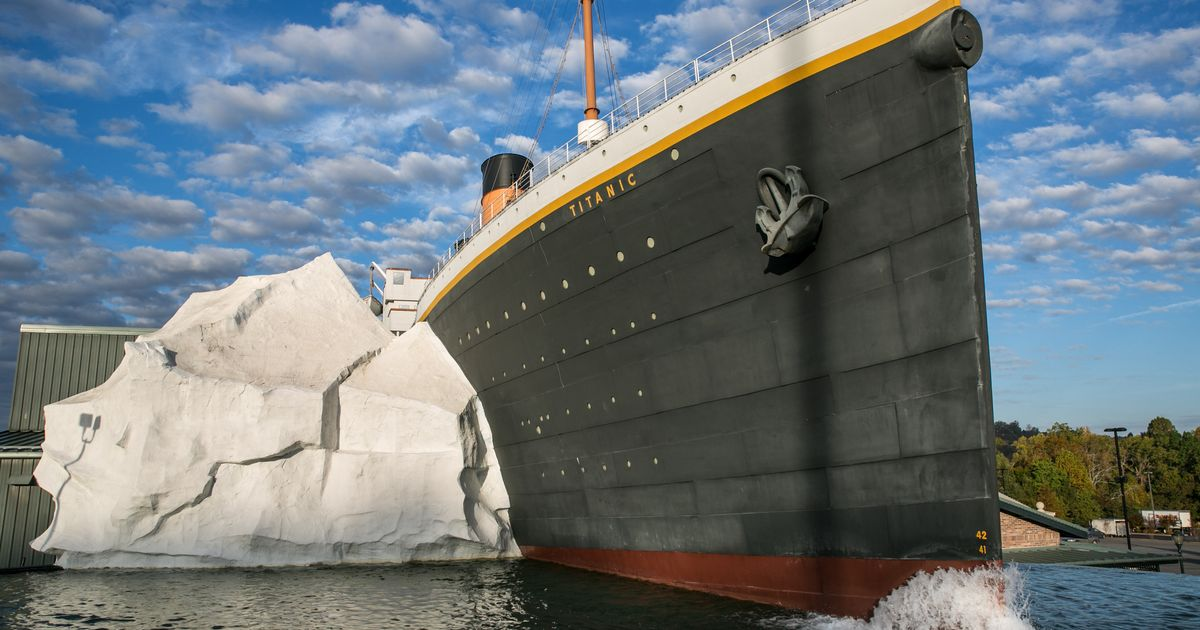 Titanic Museum's Wall Of Ice Comes Crashing Down On Visitors