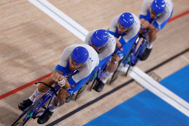 Tokyo 2020, ciclismo: Italia oro nell'inseguimento a