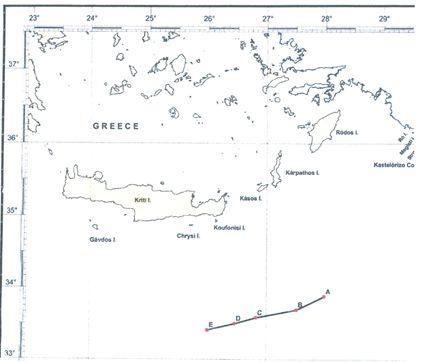 Ο χάρτης είναι από το κείμενο της Ελληνο-Αιγυπτιακής
