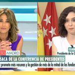 Se monta una gorda en Twitter por estas palabras de Ayuso en Telecinco: