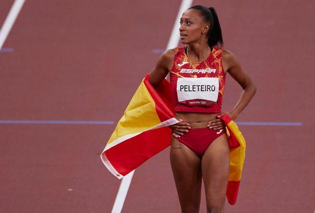 Ana Peleteiro, tras ganar el