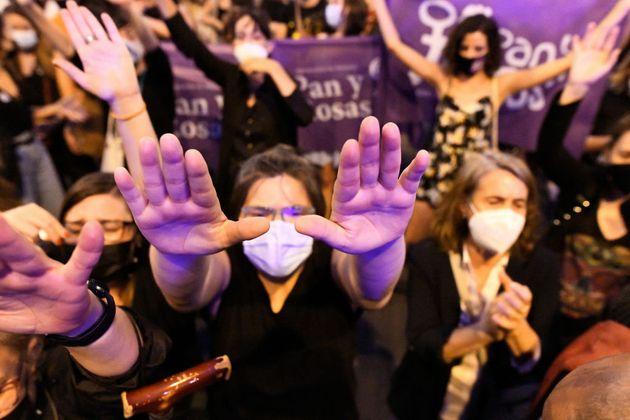 Protesta de Femen en Madrid, el pasado 11 de