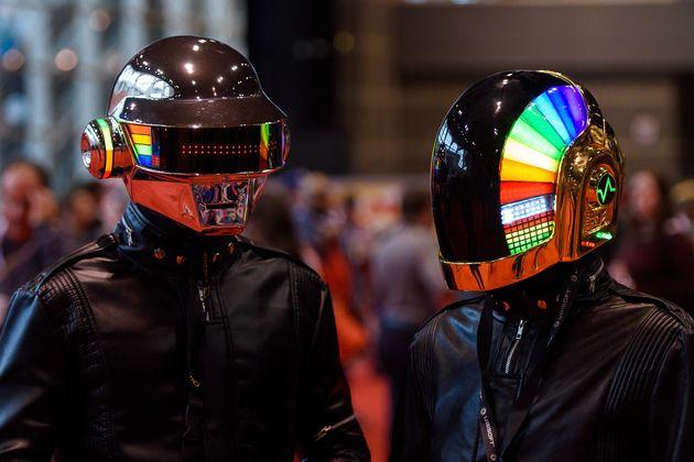 Les Daft Punk, ici en 2015, se sont séparés en février