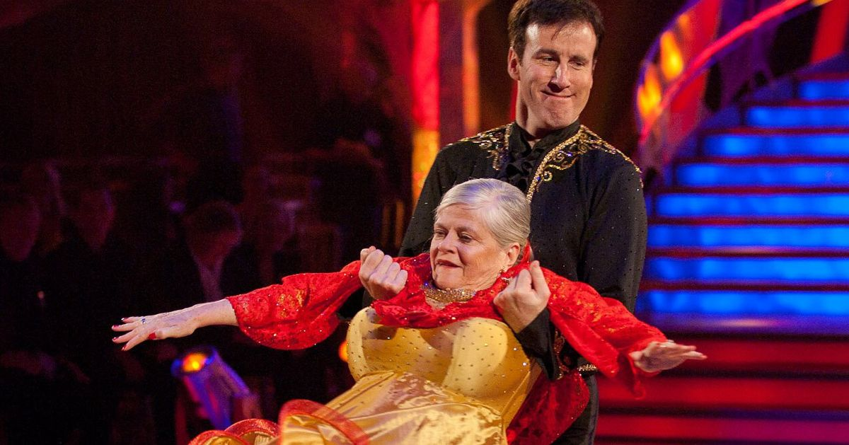 Anton Du Beke And Ann Widdecombe Once Hoped To Star In Their Own Sitcom And People Have Thoughts