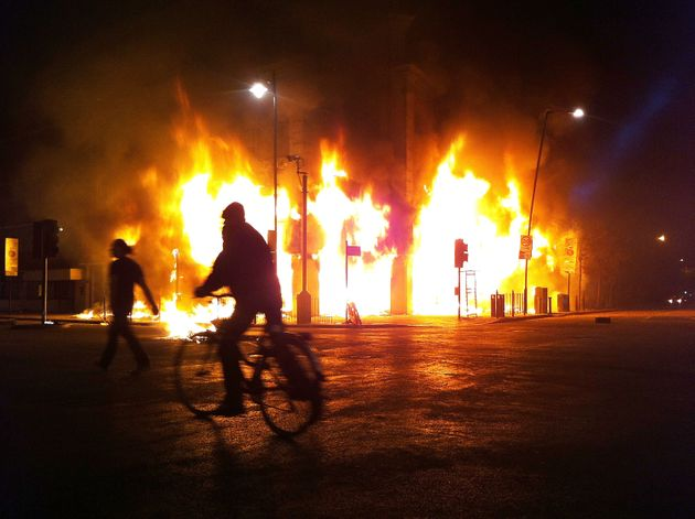 The riots started when peaceful protests against the police shooting of Mark Duggan in Tottenham, north London, turned violent. The unrest quickly spread across the UK to cities including Manchester, Bristol and Merseyside.