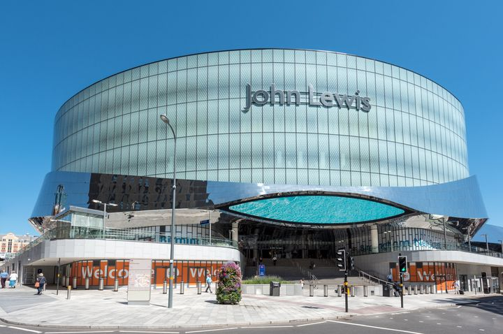 John Lewis insists its place on the list was due to a technical breach, now fixed.