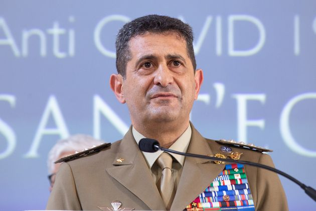 ROME, ITALY - 2021/07/06: The extraordinary commissioner for Covid-19 emergency, General Francesco Paolo...