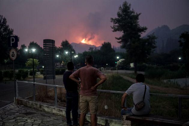 Πυρκαγιά στην Αρχαία
