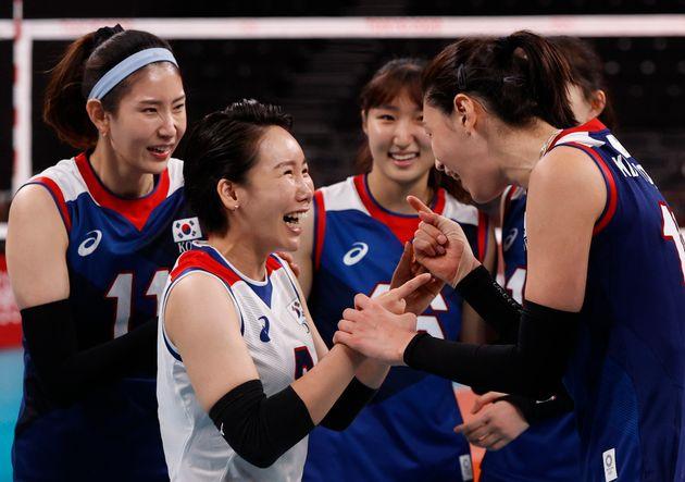대한민국 올림픽 여자 배구