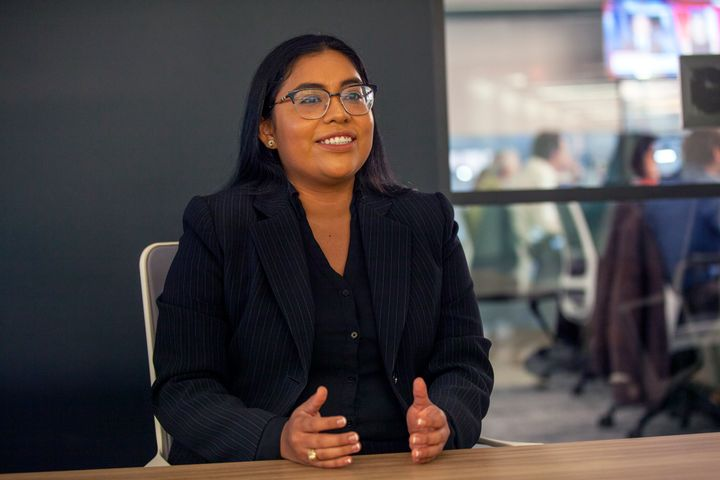 Jessica Cisneros fell short in her 2020 primary challenge by less than 4 percentage points. She has since stayed in the district to work as an immigration lawyer.