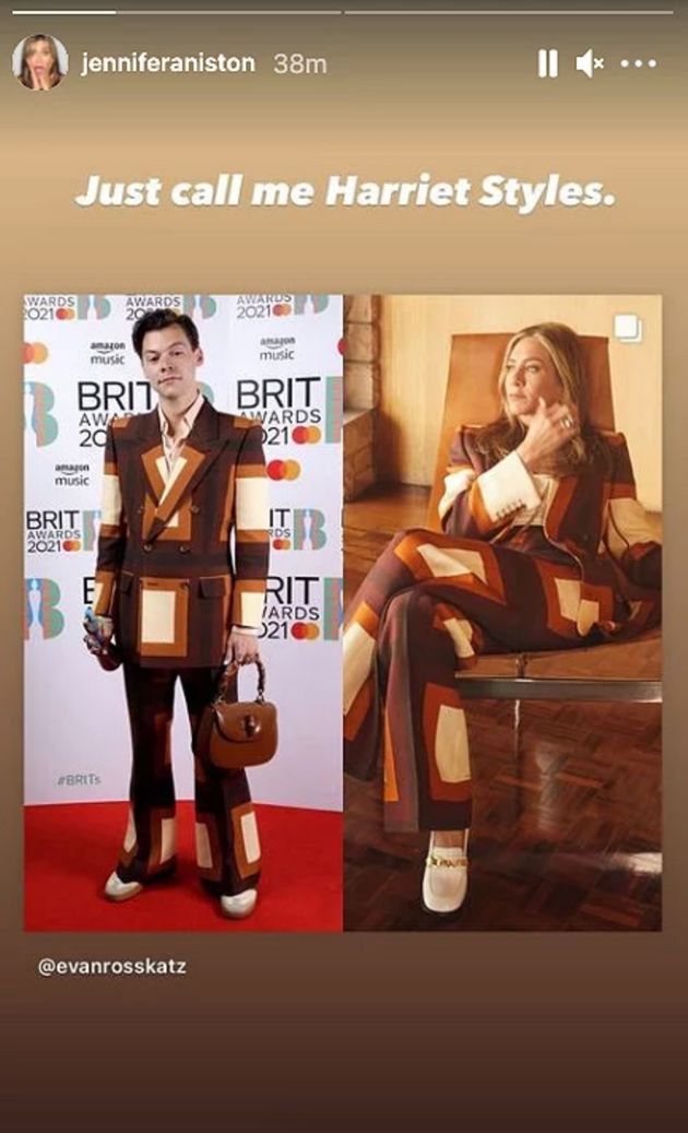Harry Styles and Jennifer