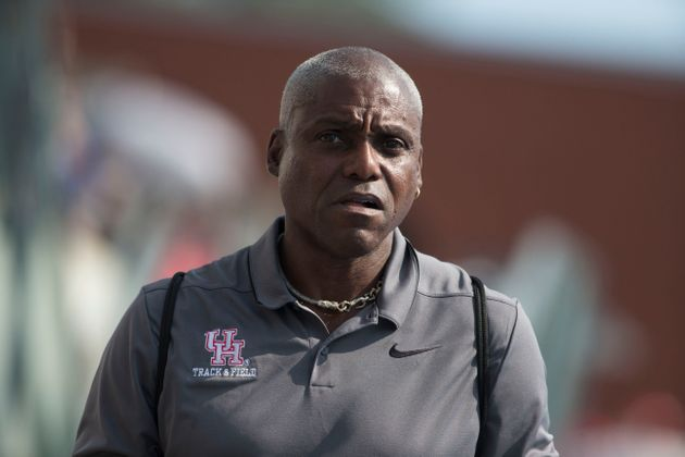 TORONTO, ON - AUGUST 11: Olympic great and University of Houston coach Carl Lewis at the 2018 North America,...