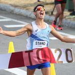 Olimpiadi, Stano medaglia d'oro nella 20 km di