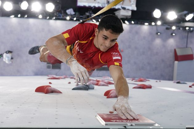 Alberto Ginés, en los Juegos de