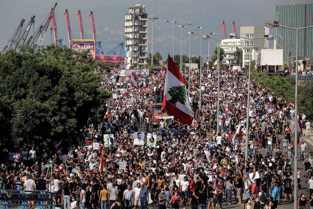 Libano 4 agosto: morte e resurrezione