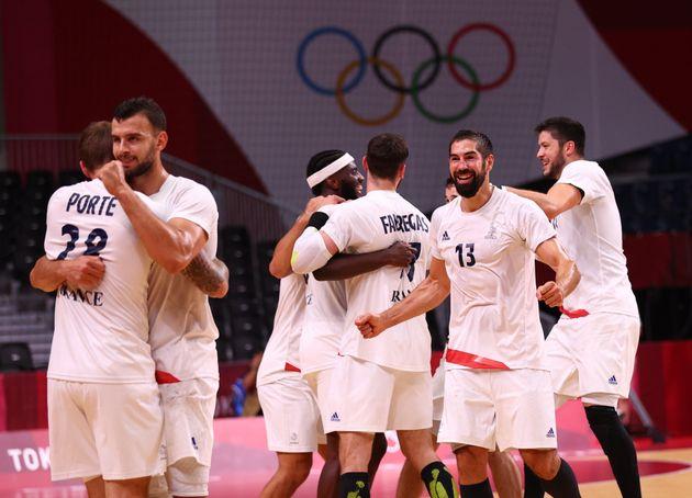 En battant l'Egypte en demi-finale des Jeux olympiques de Tokyo, Nikola Karabatic et les handballeurs...