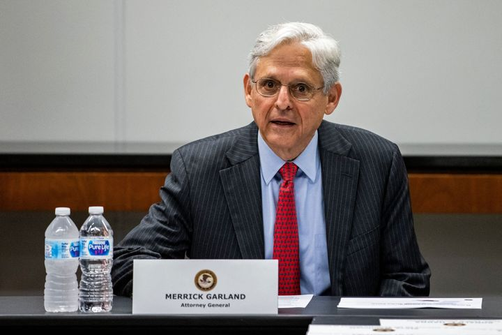 Attorney General Merrick Garland speaks during a meeting with various law enforcement leadership in Chicago. He announced this week that the Justice Department has opened an investigation to determine whether the city of Phoenix or the Phoenix Police Department have violated civil rights laws.