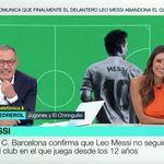 Hilario Pino le hace esta pregunta a Pedrerol sobre Messi y su reacción es para verla y