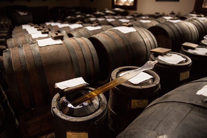 A traditional acetaia, where balsamic vinegar of Modena is aged.