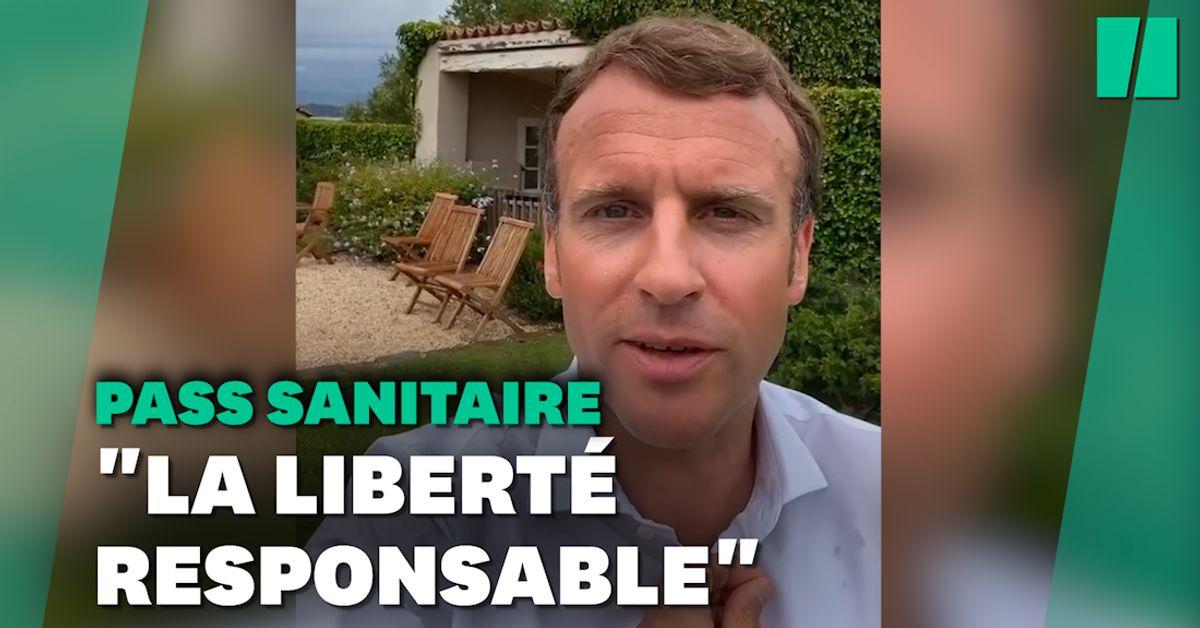 """""""Boire ou conduire"""", l'analogie parlante de Macron sur la liberté et le pass sanitaire"""