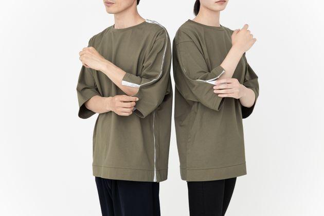 デザイン性と機能性を兼ね備えた入院服「Fudangi」