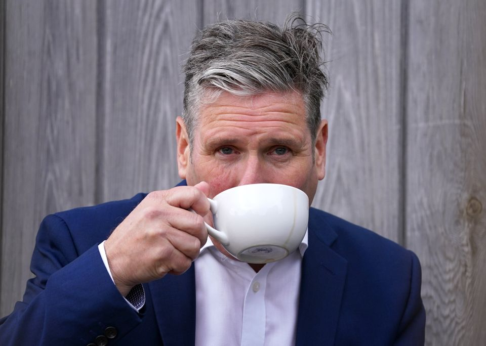 Keir Starmer is hoping to make up for lost time this