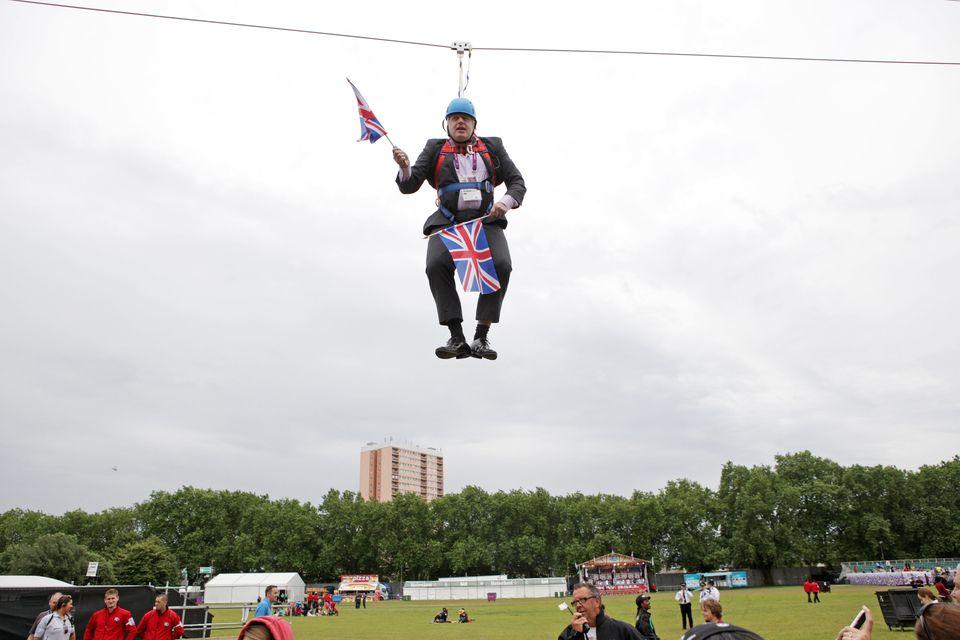 Boris Johnson as Mayor of