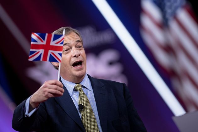 Nigel Farage started hosting a new show on GB News in