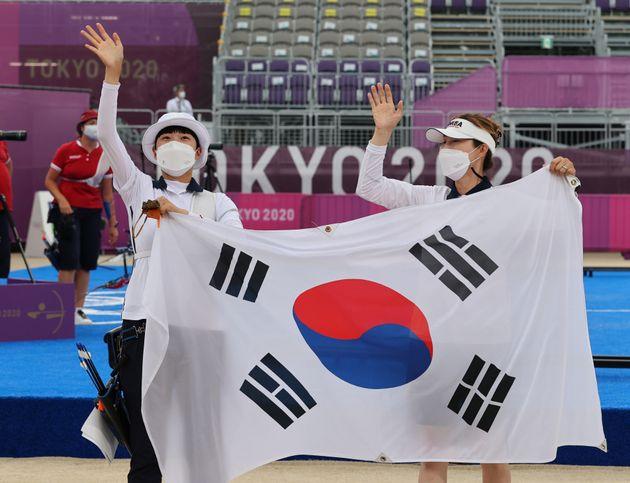 안산 선수와 류수정