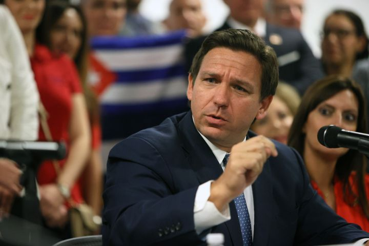 Florida Gov. Ron DeSantis (R) has come out against mask mandates and other coronavirus protections, despite the increasingly high number of COVID-19 cases and hospitalizations in his state.