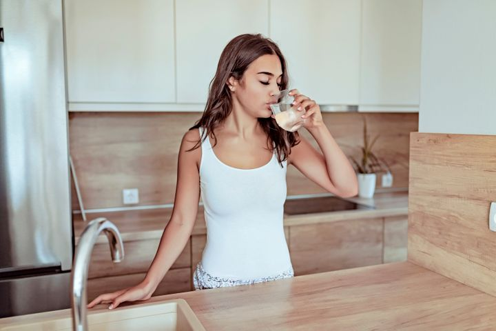 Hydrating when you first wake up is important.