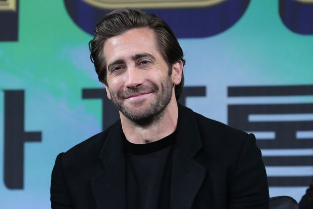 Jake Gyllenhaal at a press event in
