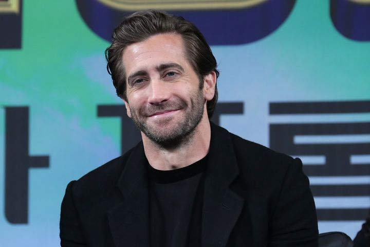 Jake Gyllenhaal at a press event in 2019.