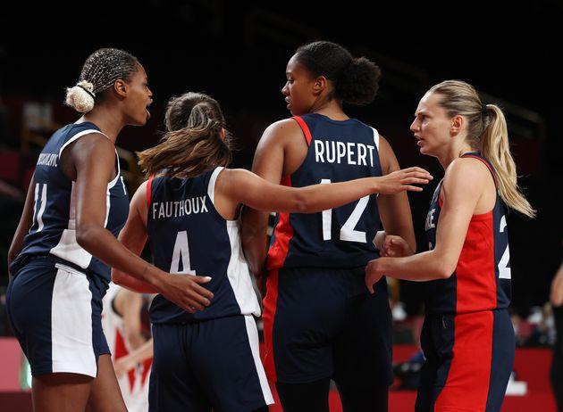 L'avenir du basket français est radieux entre les mains de Marine Fauthoux, Iliana Rupert, et...